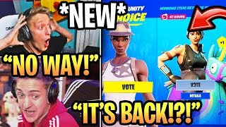 "Streamers USING 'NEW' ""ITEM SHOP VOTING"" dans Fortnite Saison 10 (OG SKINS BACK!)"