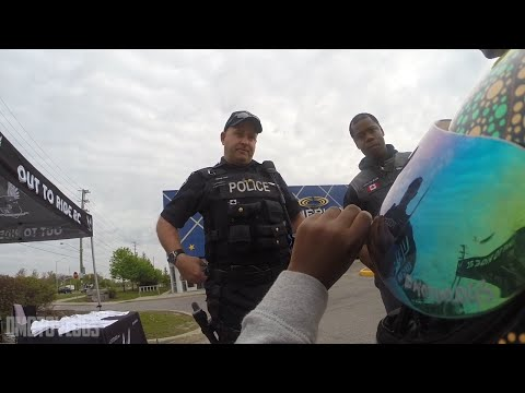 This Kid said WHAT to the COP!?!  [Raw Footage]
