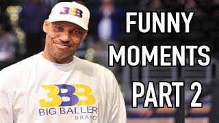 Lavar Ball Funny Moments Part 2 (NEW)