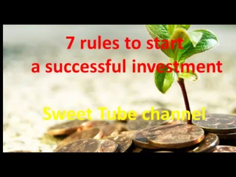 Investment .. 7 Tips for successful investment (gold - oil - insurance - etc.)