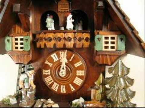 cuckoo clock - 8362 - woodchopper