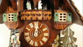Cuckoo Clock - 8362 - Woodchopper