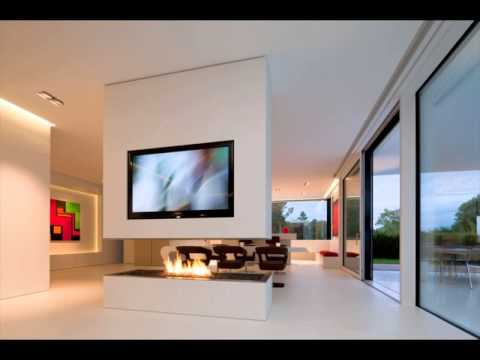 ultra modern interior home design - YouTube