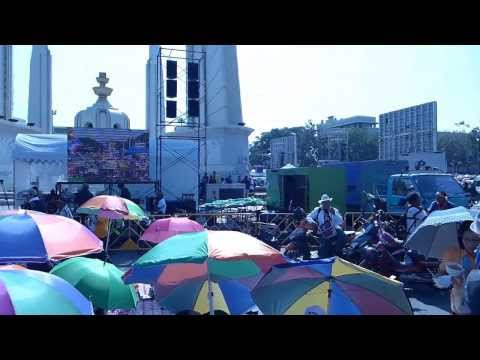 Protests in Bangkok, Thailand: Democracy Monument