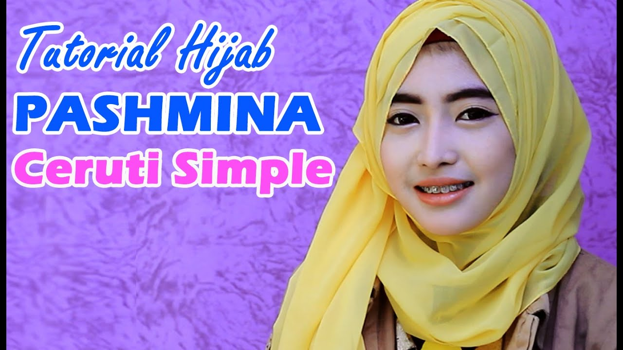 Tutorial Hijab Pashmina Ceruti Simple YouTube
