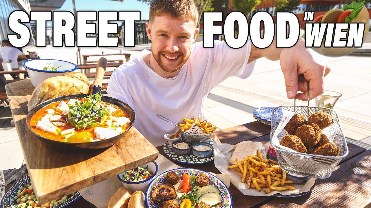 Hummus, Falafel, Curry und Wraps🌮🥘 ULTIMATIVE STREET FOOD Tour durch Wien