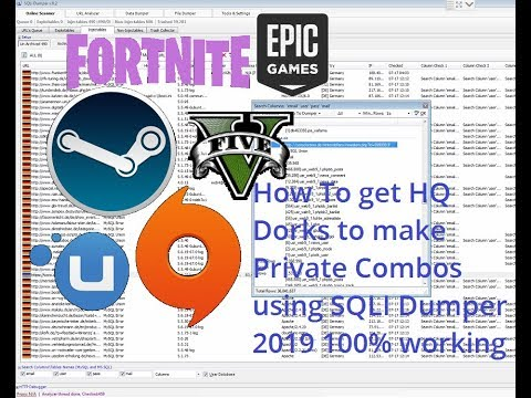 How to get HQ Fresh Dorks to create Private SQLI Combos 2019