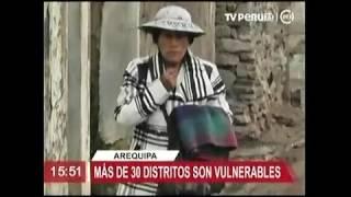 EP REALIZA ACCIONES CIVICAS SOBRE HELADAS EN AREQUIPA TV PERU