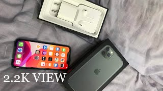 iPhone 11 Pro 64GB 2019 Unboxing