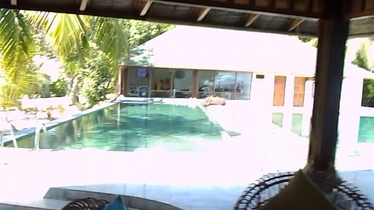 oblu by atmosphere at helengeli beach bar and pool youtube