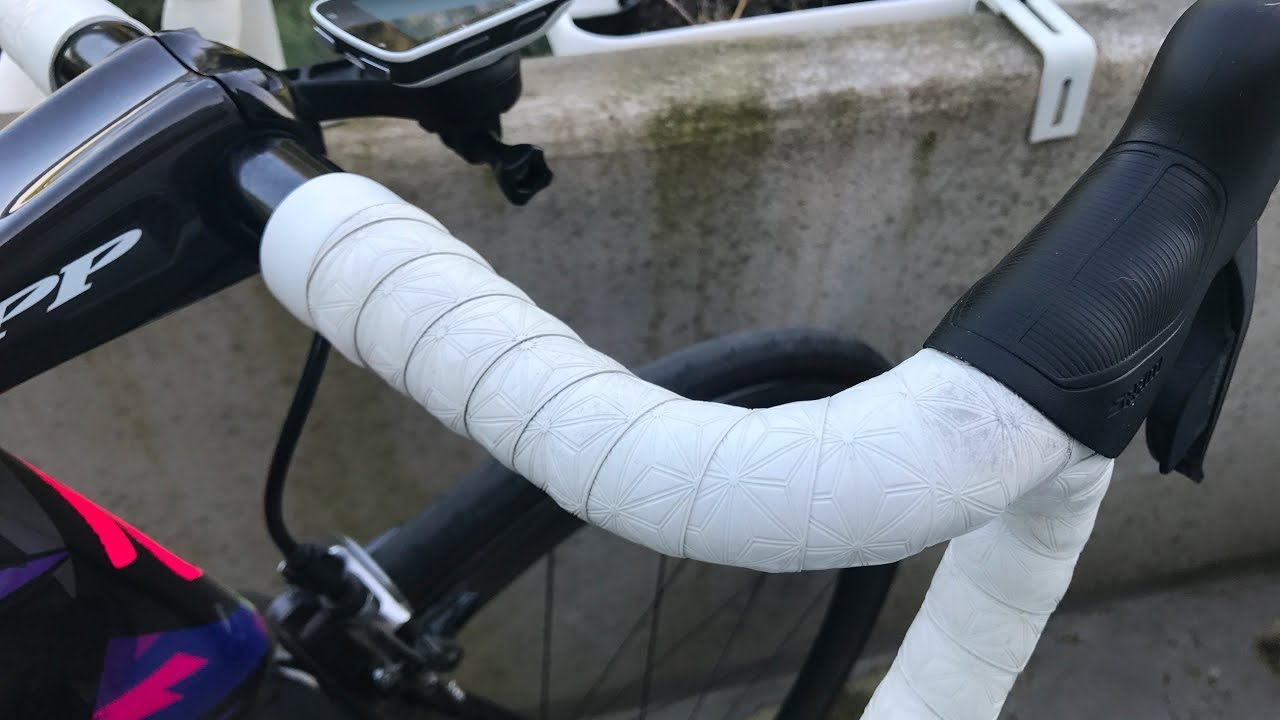 White Supacaz Suave Road Bike Handlebar Tape
