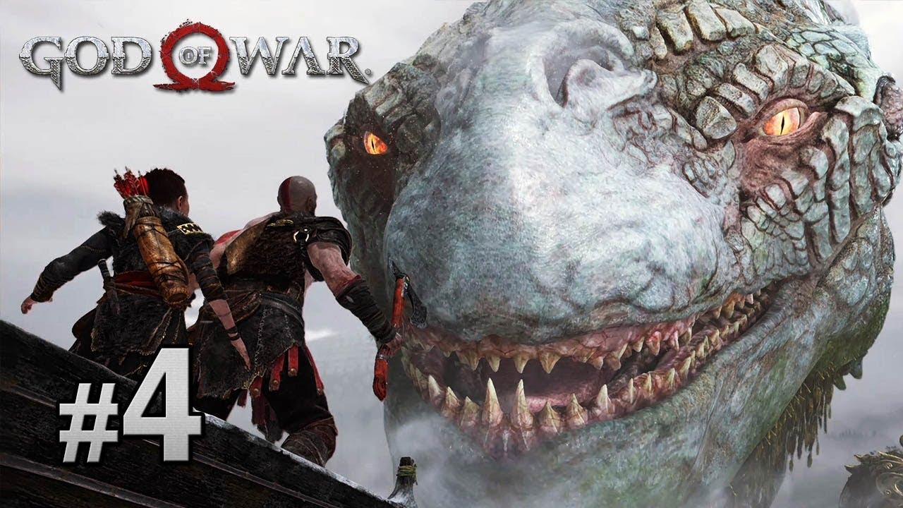 #4 世界之蛇 | God Of War 戰神中文版 [ PS4 Pro 60 FPS ] - YouTube