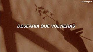 [ Taylor Swift ] I Wish You Would // Español