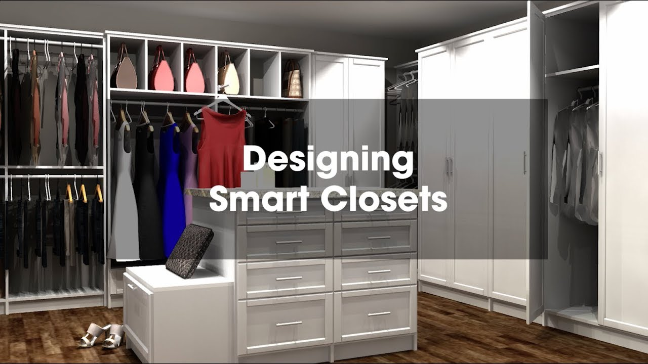 2020 Design Tip Designing Smart Closets