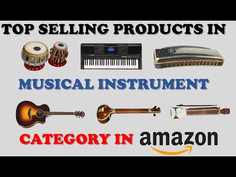 AMAZON TOP SELLING PRODUCTS IN MUSICAL INSTRUMENTS CATEGORY
