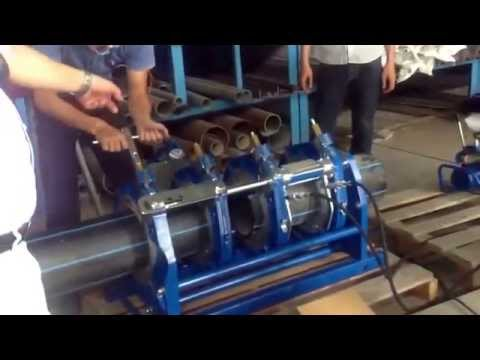 Hướng dẫn bàn giao Máy hàn ống HDPE PT315 Tecnodue Cty Đồng Lợi
