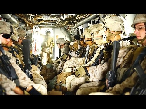 Marines MV-22 Osprey Ride