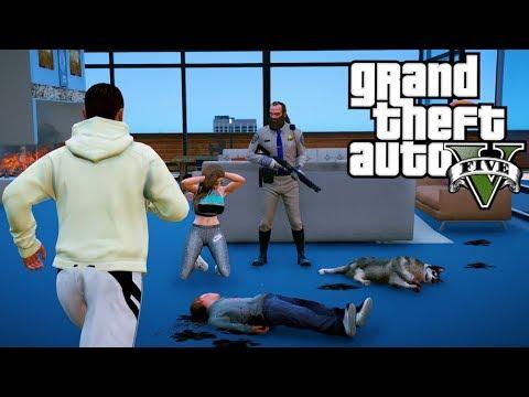 GTA 5 MOD VITA REALE DA CALCIATORE ⚽ #47 - TREVOR UCCIDE OMEGA JR E RAPISCE JASMINE!!
