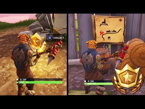 """""""Follow the treasure map found in Anarchy Acres"""" Fortnite Location Guide (Fortnite Week 5 Challenge)"""