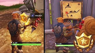 """Follow the treasure map found in Anarchy Acres"" Fortnite Location Guide (Fortnite Week 5 Challenge)"