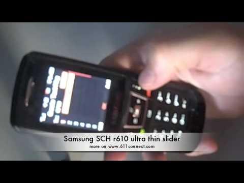 Samsung Slider SCH r610 cell telephone assessment thumbnail