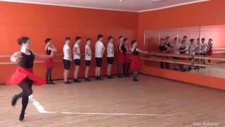 Урок народного танца Часть 2