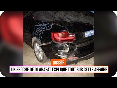 Voiture de DJ Arafat : un proche explique l'accident