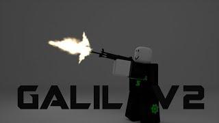 Roblox script Showcase episódio # 950/Realistic Galil v2