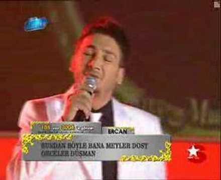 Popstar ercan geceler düşman 10.02.2008