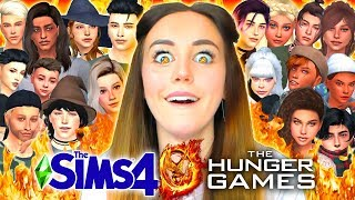 I let my Sims fight to the death in the Hunger Games... YOU'LL NEVER GUESS WHO WON!? 🤯