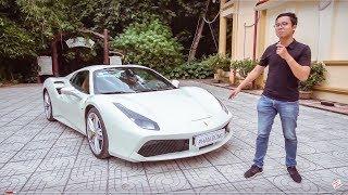 Những điều chưa biết về Ferrari 488 Spider mui trần giá 25 tỷ tại Việt Nam |XEHAY.VN|