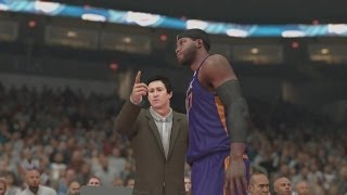 NBA 2K14 PS4 My Career - 1st NBA Game!