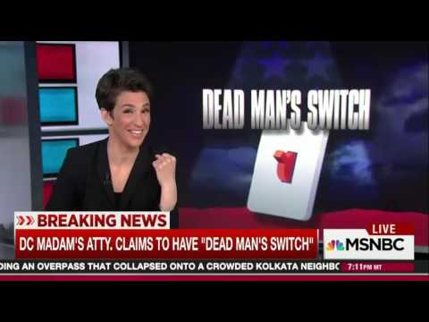 Maddow: DC Madam Lawyer WILL Release Records That Impact Presidential Election
