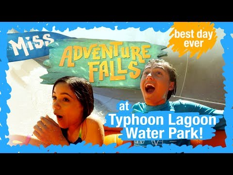 Miss Adventure Falls at Typhoon Lagoon   WDW Best Day Ever