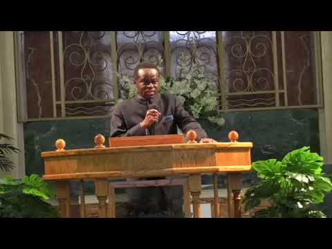 PROF. PLO LUMUMBA MINISTERS AT CHRIST JUBILEE 2018