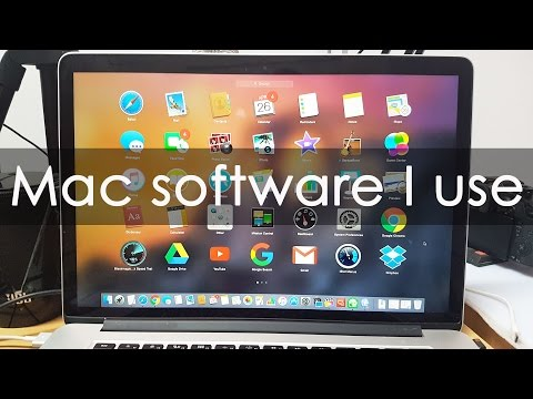Paid Software that I use on my Mac