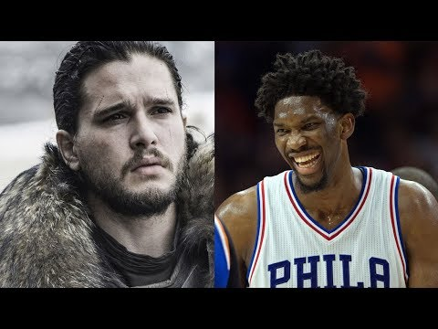 Joel Embiid Has a Prediction for 'Game of Thrones' Character Jon Snow