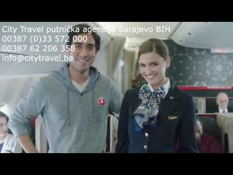 Sarajevo Bosnia and Herzegovina air tickets Turkish Austrian Lufthansa Airlines Online sales