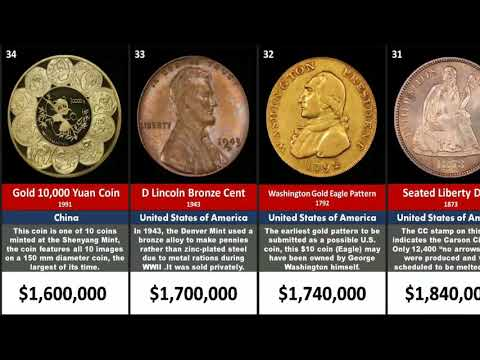 List of Most Expensive coins in History