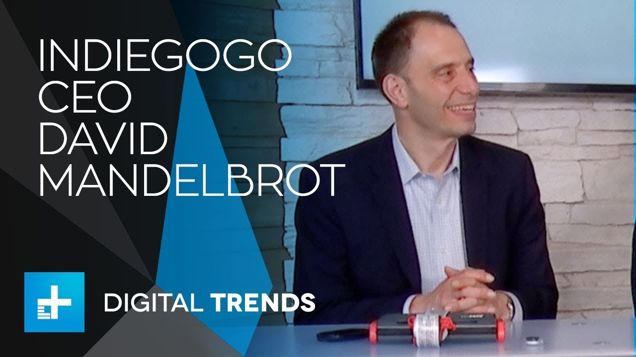 David Mandelbrot CEO of Indiegogo – Live Interview at CES 2018