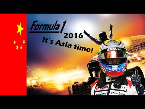 F1 2016 Career Mode S1E3 It's Asia time!