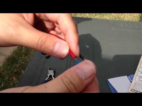 Honda Accord Lo Beam Headlight Wiring Repair Easy 6th Generation 2002 light bulb