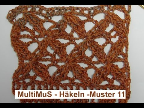 MultiMus Häkeln Muster 11 - mit Veronika Hug - YouTube