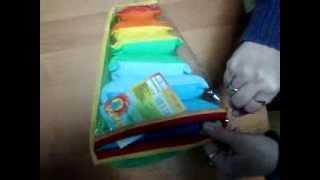 Видеообзор детская игрушка - Мягкая пирамидка Подушки элементы сцепляются липучками (kidtoy.in.ua)(Мягкая пирамидка Подушки, элементы сцепляются липучками Розумна іграшка Длина: 28.0 см. Ширина: 18.0 см. Высота:..., 2014-11-26T19:40:05.000Z)
