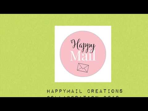 HAPPYMAIL CREATIONS COLLABORATION ~ DIY Paper Rosettes ~ August 2019