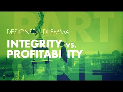 Graphic Design Career Tips: Integrity vs Profitability pt. 1/3