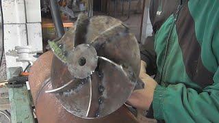 видео Печь из газового баллона