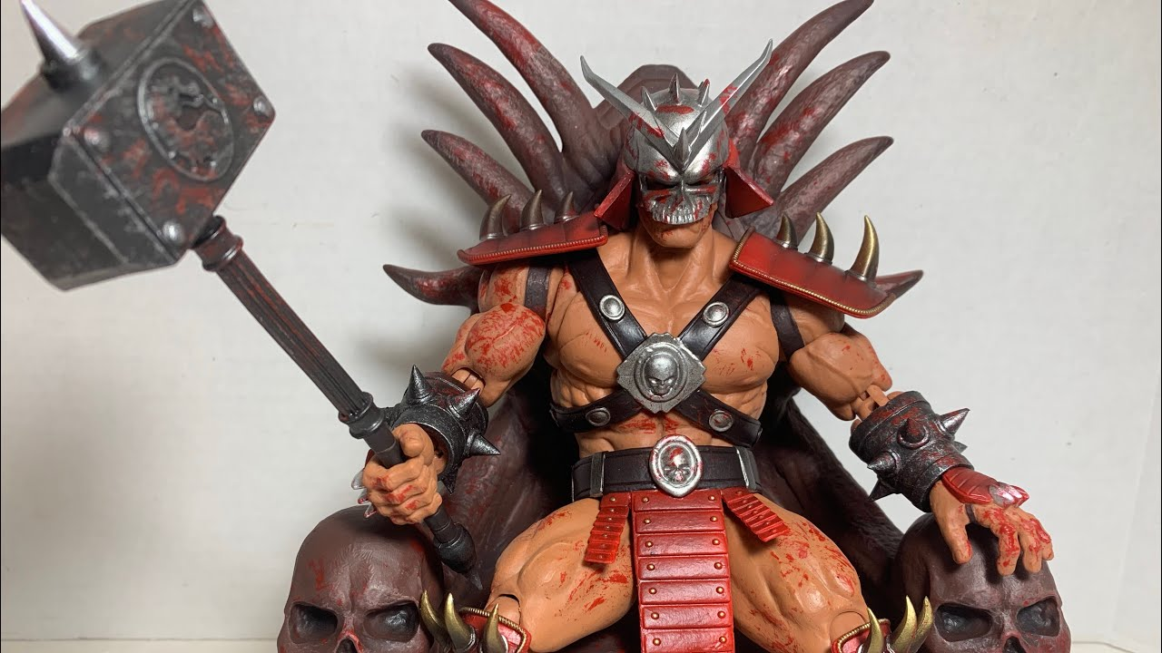 Shao Kahn OG Regular Edition Mortal Kombat Storm Collectibles Official