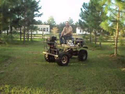 swamp buggy minature - YouTube