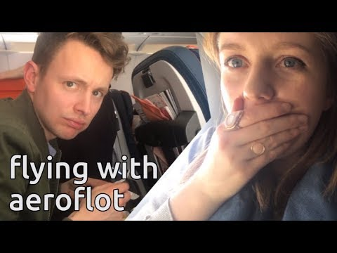 do not eat the food | aeroflot flight to tokyo honest review | japan vlog 2